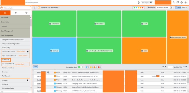 EventManagement Dashboard